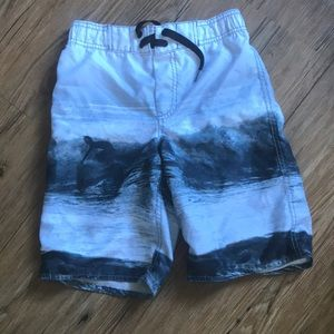 Boys bathing suit trunks